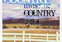 COUNTRY MUSIC / by Tiffany Nixon