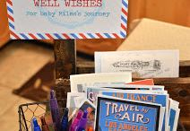Gracie 2nd Birthday World Traveler / by Erica Ann