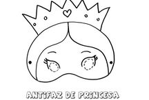 careta de princesa