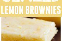 Sweet Treats - Bars & Brownies