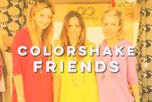 Friends of Colorshake / Wonderful and positive people in colorshake wear