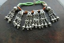 Ethiopian antique silver jewelry,collectables