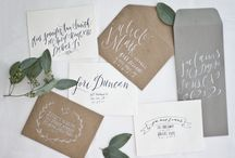 Intriguing Wedding Invites and Save The Dates / From rustic to modern, this range of beautiful invitations will be sure to inspire creativity.