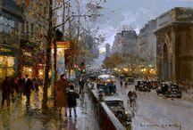 Edouard Cortes Paintings