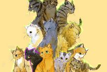 wojownicy - koty