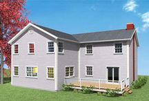 Two Story Addition Plans / by Proven Helper Handy How-to's