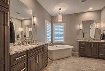 Custom Bathrooms by Remington Properties / Custom Bathrooms built by Remington Properties