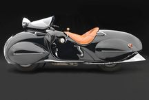 Art Deco Henderson Motorcycle
