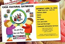 Fun events and festivals / Dia de Los Nińos Festival at Casa de la cultura Saybrook April 18th  Vis Los Cupcakes will be there offering her awesome Mexican Cupcakes