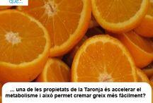 Taronja / Naranja / Aquí  trobaràs curiositats sobre la taronja  / Aquí encontrarás curiosidades sobre la naranja
