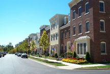Parkwood Exteriors:  Townhomes