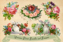 Victorian images for scrapbooking and collages
