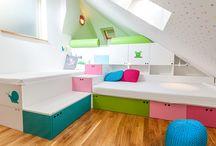 Pokoje pro předškoláky / Naše realizace dětských pokojů pro předškoláky.