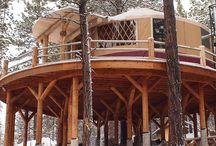 Yurts and sleepouts