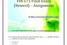 FIN 571 Final Exam Newest Assignment