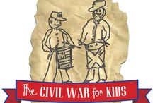 Civil War for Kids--Places, faces, fact and fiction / Remembering our past. Activities for children and youth. Library materials that explore, explain and educate on the history of the American Civil War. / by Handley Regional Library