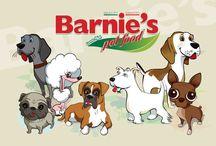 BARNIE'S PET FOOD ILLUSTRATION / Illustrazioni di cani e gatti per la nuova linea di prodotti pet by Barnie's