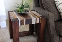 scrab wood table