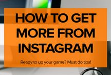 Social Media | Instagram / Social Media Instagram tips, strategies and ideas to help creative entrepreneurs and small business owners gain followers and market their businesses.