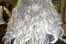 Gray Hair ♥ / I ♥love♥ the color of my hair!