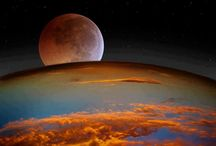 The Moon, Planets, and Space  / by Andrea Hall