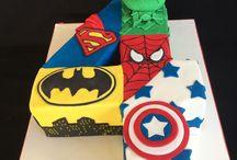 super hero cake ideas