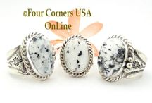 Size 9 Rings / Native American and Artisan made Size 9 Rings including quarter and half sizes Four Corners USA OnLine / by Four Corners USA OnLine
