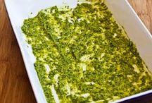 Pesto kip
