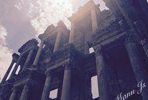 Ephesus Turkey / Ephesus ancient city.