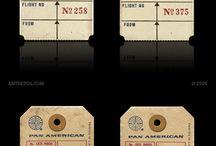 Etichette D'epoca