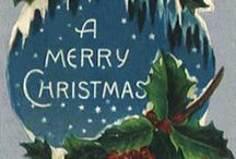 VINTAGE CRISTMAS CARDS