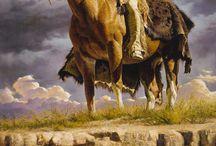 лошади и индейцы