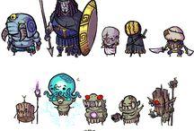 Characters sets