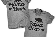 Baby Reveal / Shirts, Sweaters and more for new moms and dads announcing that beautiful baby!