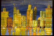 Art - Cityscapes / by Cathy Grant