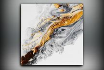 defi 4 / Acrylmalerei