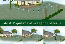 Patio Light Install Ideas