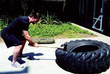 Tyre flip training