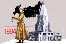 Hetalia characters and UNESCO & Classical composers