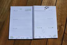 Agendas / Agendas escolares y anuales con algo de más