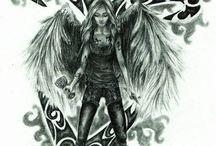 Dary Anioła art