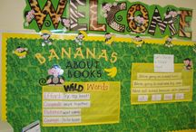 Library Bulletin Boards & Displays / Marketing ideas for the youth collection.