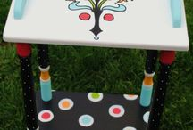 tables / by Pamela Persons-MacDowall