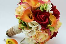 wedding bouquets fall