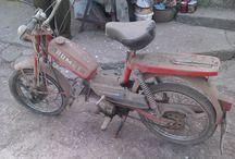 Old polish moped restoration - Romet Kadet