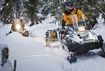 Лучший партнер для тяжелой  работы - снегоход викинг 540
