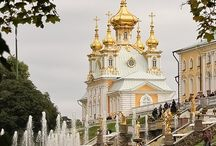 Palaces in Peter / Palaces in St. Petersburg, Russia