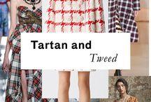 """TRENDS RESORT 17 """"tartan&tweed"""""""