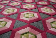 C ∆  T E X T I L E S - Peggy Collection / Rugs - Cushions - Lampshades - Fabric - Bespoke