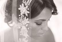 bruid zwart wit